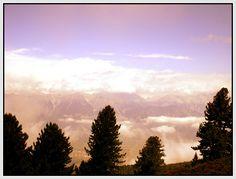Overlooking Innsbruck valley