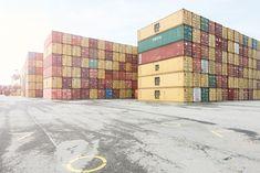 Transport & Logistik: Eurogate Containerterminal Bremerhaven. Fotografiert von Christopher Domakis. https://expose-photo.de/christopher-domakis/transport-logistik/