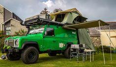 The amazing overland machine, Kermit. www.theoverlanders.co.uk