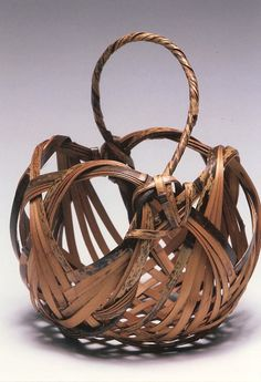 Nancy Moore Bess bamboo basketry✋✋More Pins Like This At FOSTERGINGER @ Pinterest☝✋