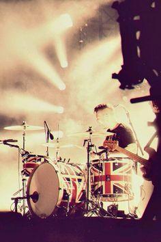 Matt Helders of the Arctic Monkeys