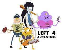 Adventure Time - Left 4 Dead mashup