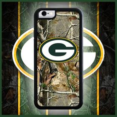 Green Bay Packers Camo Phone Case
