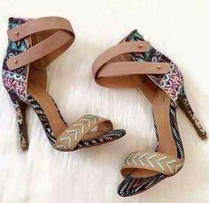 Yes, Boho heels ladies.