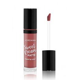 Jordana - Batom líquido Sweet Cream Matte - 07: Tiramisu