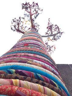 tall tree sculpture