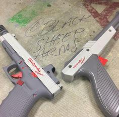 .45 Glock to mock the old Nintendo Pistol