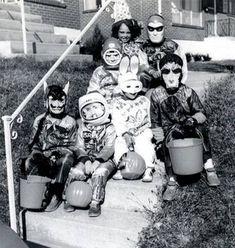 Halloween in 1950.