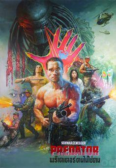 The Geeky Nerfherder: #CoolArt: 'Predator' by Tongdee Panumas