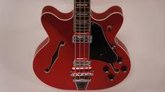 Fender Coronado Bass II 2013 Candy Apple Red | Reverb