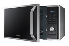 Samsung MS11K3000AS 1.1 cu. ft. Countertop Microwave with Ceramic Enamel Interior, Silver