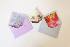 DIY: Personalized Envelope Lining