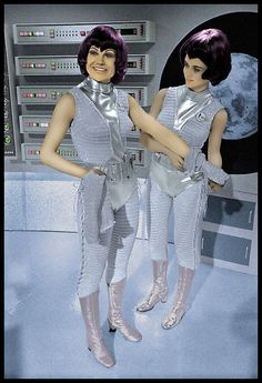 Gabrielle Drake and Joan Harrington  UFO