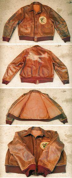 Vintage Leather A2 Jacket