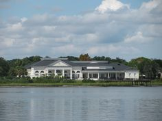 Get married at the St. Augustine River House, across the bay from my house!