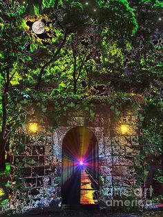"""""""The Passageway"""" by Artist Michael Rucker http://michael-rucker.artistwebsites.com/featured/the-passageway-michael-rucker.html"""