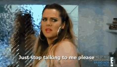 When five different Sephora workers ask if you need help. | 24 Khloe Kardashian Reactions To Get You Through Life