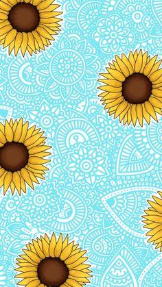 Girasoles x mandalas shared by Agus on We Heart It – Fondos de pantalla – mandala Flower Phone Wallpaper, Emoji Wallpaper, Cute Wallpaper Backgrounds, Wallpaper Iphone Cute, Pretty Wallpapers, Mandala Wallpapers, Doodle Art Drawing, Mandala Drawing, Dibujos Zentangle Art