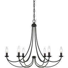 Quoizel|MRN5006IB|Chandelier imperial bronze 6lt
