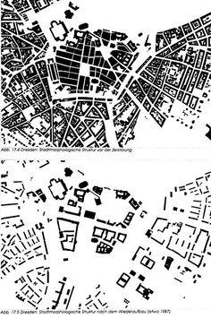 From Wikiwand: Durch Kriegszerstörung veränderte Morphologie (Dresden)