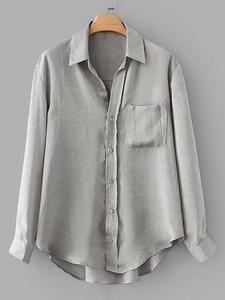 9308119ef Metallic High Low Curved Hem Shirt | Sunshine's Boutique & Gifts ...