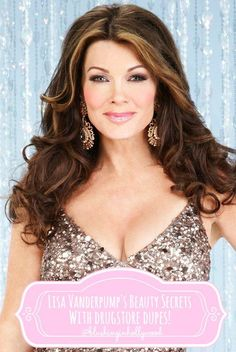 Lisa Vanderpump's Makeup Favorites (with Drugstore Dupes!) - Blushing in Hollywood Celebrity Hairstyles, Diy Hairstyles, Beauty Secrets, Beauty Hacks, Beauty Tips, Beauty Products, Dying Hair At Home, Beverly Hills Makeup, Lisa Vanderpump