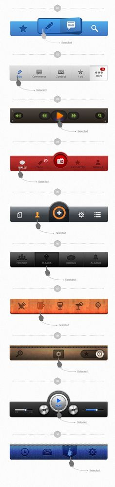 UI Design / UI Pack for iOS – Build Apps. Awesomely! — Designspiration