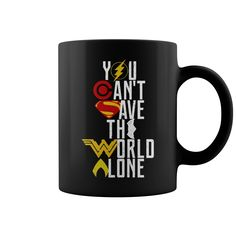 You can't save the World alone HEROES Mug