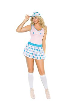 Golf Tease - 2 pc. Women's Costume Plus Size