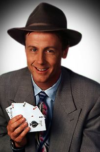 Harry Anderson makes everything awesome.  You know he is a cool guy.  Just leave your wallet at home.