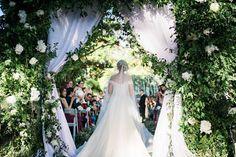Tagaytay, Garden Weddings, Walking Down The Aisle, Garden S, Lush Green, White Roses, One Shoulder Wedding Dress, Wedding Dresses, Fashion
