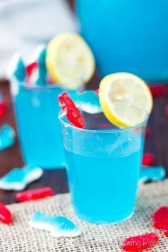 This Cool Blue Pool Punch is sure to be a hit at any party or gathering. With just 3 ingredients, this punch could be on your table in no time! < Perfect for Ernie Rubber ducky punch! Blue Drinks, Fruit Drinks, Summer Drinks, Beverages, Kid Party Drinks, Party Punch Kids, Summer Bbq, Mixed Drinks, Cocktails