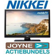 Nikkei NL22MBK 22 inch 12V combivoordeel joyne Camper, Tv, Caravan, Travel Trailers, Television Set, Motorhome, Campers, Camper Shells, Television