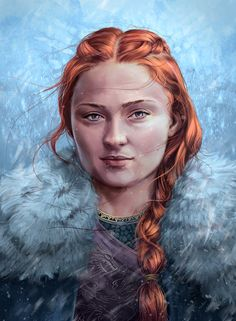 Sansa Stark of Winterfell Game of Thrones Fanart by Tobiarts-and-Design Game Of Thrones Sansa, Game Of Thrones Art, Sansa Stark, Upper Arm Tattoos, Game Of Trones, My Champion, Fanart, Best Series, Tv Series