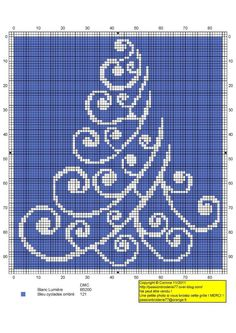 Christmas Tree in Counted Cross Stitch