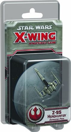 Star Wars X-Wing Z-95 Headhunter Expansion Pack Star Wars X-Wing Miniatures Game: Z-95 Headhunter Expansion Pack No description (Barcode EAN = 9781616617714). http://www.comparestoreprices.co.uk//star-wars-x-wing-z-95-headhunter-expansion-pack-star-wars-x-wing-miniatures-game-z-95-headhunter-expansion-pack.asp