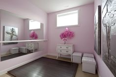 Home Gym - Reflections Windsor showhome – Girl's ballet room. More info: www.vestawilliams... - http://amzn.to/2fSI5XT