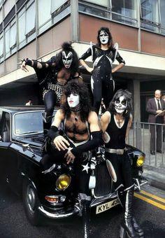 Kiss- London,England 1976