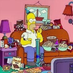 #Simpson #Stoner #w33daddict