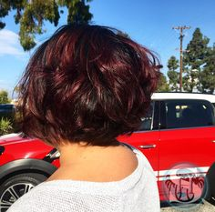 Ruby Red Hair by Liz Diaz (shearhands) at Sutra Salon