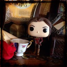 """""""BELLE"""" #ChrisMonteith #OnceUponATime #OUAT #OUATCollection #Belle #PopFunko #FunkoPop"""