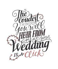 Lettering for Marinkovic Weddings, by Tamara Pesic