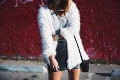 Silver_Lake-Leather_Mini_Skirt-Urban_Outfitters-Fluffy_Jacket-Outfit-Street_Style-Los_Angeles-5