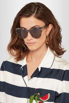 95eec5fa15 Le Specs - Liar Lair cat-eye tortoiseshell acetate sunglasses
