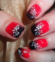 Wendy's Delights: Sparkly Nails Secret Garden Jewel Nail Stickers @Sparkly-Nails.co.uk