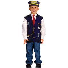 Aeromax My 1st Career Gear Train Conductor Vest
