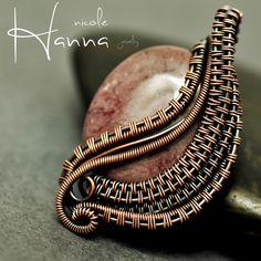 Mookaite Copper Egg Pendant | JewelryLessons.com