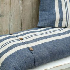 Rustic Linen Cushion Cover