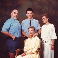 These are the worst family photos ever! They just get worse and worse the farther down you go!