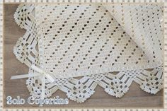 Copertine uncinetto e ferri con schemi e spiegazioni Baby Blanket Crochet, Crochet Baby, Baby Patterns, Crafts For Kids, Knitting, Rugs, Camilla, Baby Blankets, Blog